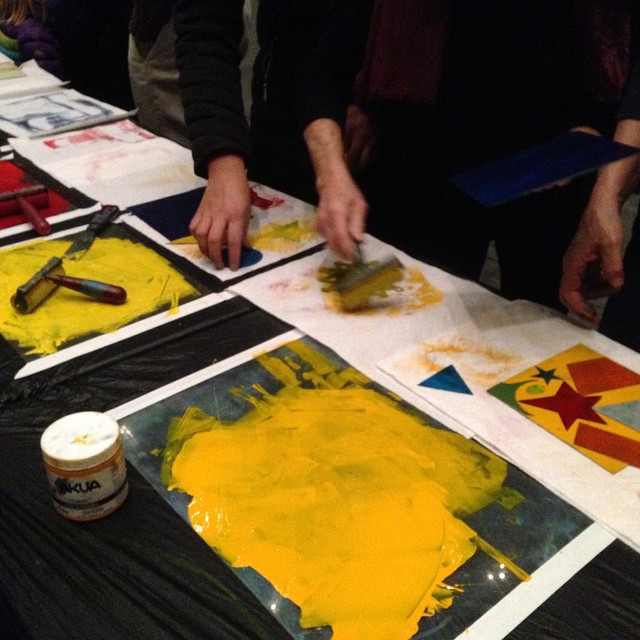 Printmaking Workshop & Live Jazz