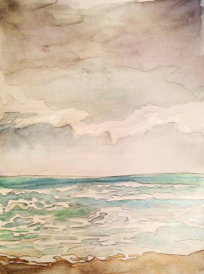 South Beach sketch