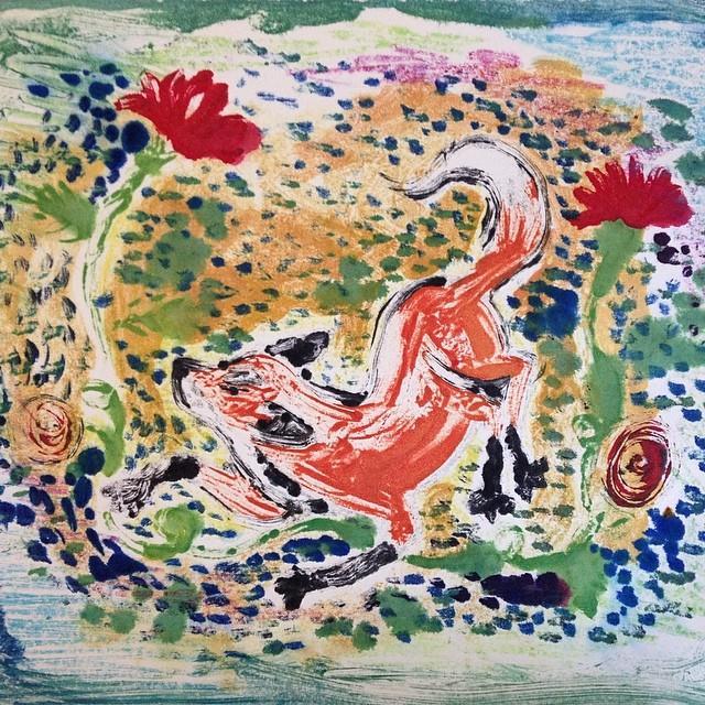 Painterly Fox